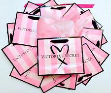 Victoria's Secret Pink Stripe Logo Small Med Paper Shopping Gift Bag 5 10 20 40