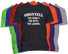 ODONNELL Last Name Shirt Custom Name Shirt Family Reunion Family Name T Shirt