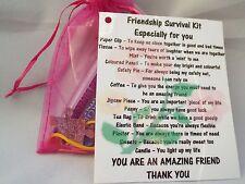 Friendship Novelty Survival Kit Gift Keepsake Fun Present
