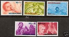 Nederland    Nummer  870/874   Postfris.   (NL057)