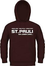 T-Shirt / Kapuzensweat St. Pauli EIN LEBEN LANG Ultra Hoodie, Kapu Trikot