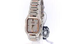 Ladies Citizen Eco-Drive EX1176-59D Fiora Signature MOP Diamond Accented Watch