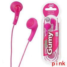 Earphones Genuine JVC Gumy Gummy HA-F160 In-Ear Canal Earbuds Headphones