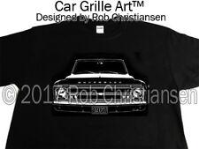 Car Grille Art™ T-Shirt, 67 1967 Chevy Truck, C10, K10, Suburban, Panel