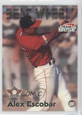 1999 Team Best Wheels #1 Alex Escobar Capital City Bombers Rookie Baseball Card