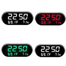 Digital LCD Thermometer Hygrometer Temperature Humidity Meter Alarm Clocks
