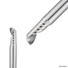 VHM ALUfräser - 1 Zahnfräser (z=1) 2, 3, 4, 5, 6, 8, 10, 12mm