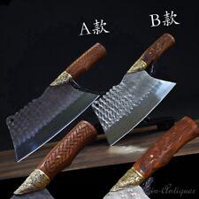 Meat Cleaver Chef Chop bone knife kitchen knife SanMai III SandwichSteel #1223