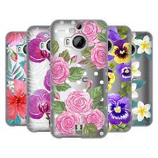 HEAD CASE DESIGNS WATERCOLOUR FLOWERS 2 SOFT GEL CASE FOR HTC PHONES 2