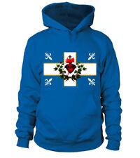 drapeau carillon sacré coeur bandiera flag canada catholique roi jésus royal