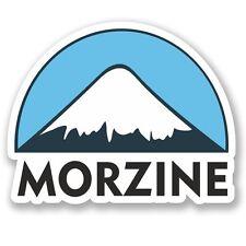 2 x Morzine Ski Snowboard Vinyl Sticker Laptop Travel Luggage Car #5139