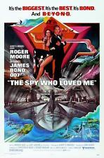 James Bond 007-La espía que me amó Movie Poster Lienzo Arte Impresión Roger Moore