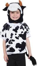 Childrens Kids Boys Girls Fancy Dress Party Tabard Hood & Tail Animal Costume