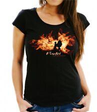 Damen T-Shirt PUDEL FEUER UND FLAMME by Siviwonder Hundemotiv