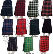 7.3m M Kilts écossais hommes 455ML, décontracté kilt, Tailles variées et tartans