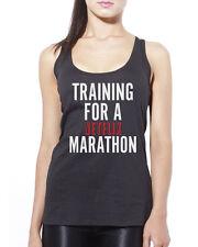 Training for a Netflix Marathon Tv Show Chill Womens Vest Tank Top Many Sizes