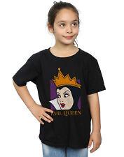 Disney Niñas Evil Queen Cropped Head Camiseta