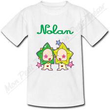 T-shirt Bébé Gémeaux Horoscope avec Prénom Personnalisé