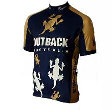 Radtrikot Australia Outback kurzarm (auch Übergrößen bis 6XL)