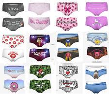 "Printed Ladies SEXY PANTIES Underwear Waist sizes 24"" to 27"" Choice of Design"