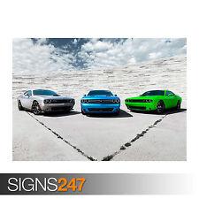 9142 Car Poster Photo Poster Print Art * All Sizes DODGE CHALLENGER AVANT