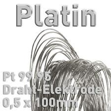 Draht-Elektroden ⌀0,5 mm Elektrochemie, Sortiment, Drahtelektroden Elemente 100