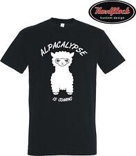 T-Shirt Alpacalypse Alpaka Liebe alpaca