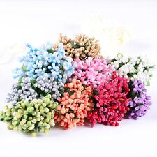 Mazzetto 36pz Gelsina pistilli bacche decorazione per bomboniere fai da te fiori