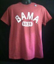 "University of Alabama ""1831 Bama"" Faded Crimsom Tee"