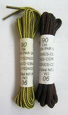 COPPIA di LACCI per SCARPE COLORATI ROTONDI 90cm Stringhe SHOES Laccio SCARPA
