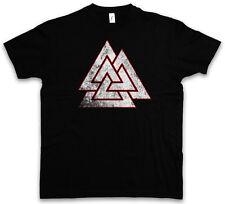 WOTAN VALKNUT SYMBOL T-SHIRT Celtic Paganism Wotan Thor Vikings Knoten T Shirt