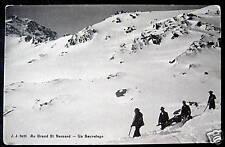 Switzerland~1900's Au Grand St. Bernard ~ Un Sauvetage