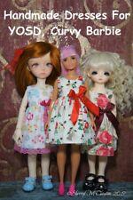 Handmade YOSD bjd(Soom iMda, Hujoo Rose, Island)/Curvy Barbie Doll Dresses