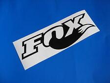 Fox Tail calcomanía / etiqueta adhesiva X2