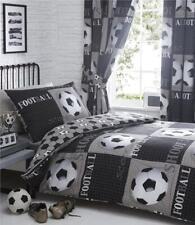 Football Duvet Sets or Bedding & Curtains Sets 3D Footballs Reversible Design