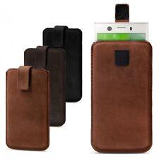 ROYALZ Tasche für Sony Xperia XZ1 Compact Schutz Hülle Case Sleeve Cover Vintage