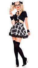 Tenue Écolière Déguisement Sexy 7 pcs T Costume