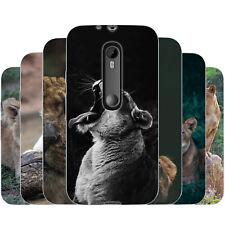dessana Löwin TPU Silikon Schutz Hülle Case Handy Cover Tasche für Motorola