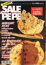 SALE & PEPE - N.3 - 1994 - LE UOVA - SPEZIE - OSTRICHE - ARROSTI -INVITI SINGLE
