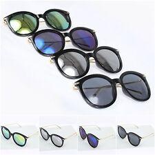 Highfashion Sonnenbrille Hornbrille Nerd Brille Verspiegelt Retro