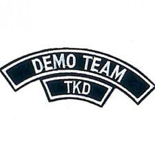 "Tkd Demo Team Martial Arts Patch - 5"""