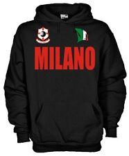 Felpa con cappuccio Supporters hoodie KT50_B Tifosi Milano calcio football fans