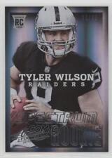 2013 Panini Absolute Spectrum Silver #195.2 Tyler Wilson Oakland Raiders Card