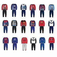 Garçons Enfants Football Arsenal Man City Liverpool Chelsea Pyjama Nightwear Taille 4-12 ans