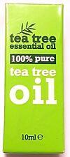 100% di tea tree oil 100% Puro Tea Tree olio essenziale 10 ml antisettico, anti funghi