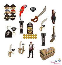 Costume pirate fête robe fantaisie accessoires vous n'avez besoin 4 une parfaite pirate LC