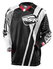 MSR NXT Jersey Black/Grey Adult Men's Motocross/MX/ATV/BMX/MTB Off-Road Gear