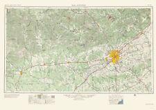 Topographical Map Print - San Antonio Texas - USGS 1957 - 23 x 32.60