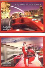 Grand Prix Season Uniquely Singapore Postcard 2008
