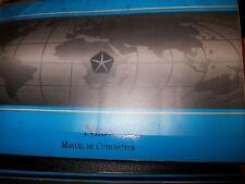 Chrysler NEON : notice d'utilisation 1994 pochette